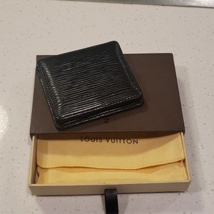 Louis Vuitton Epi Borneo Black Coin Purse